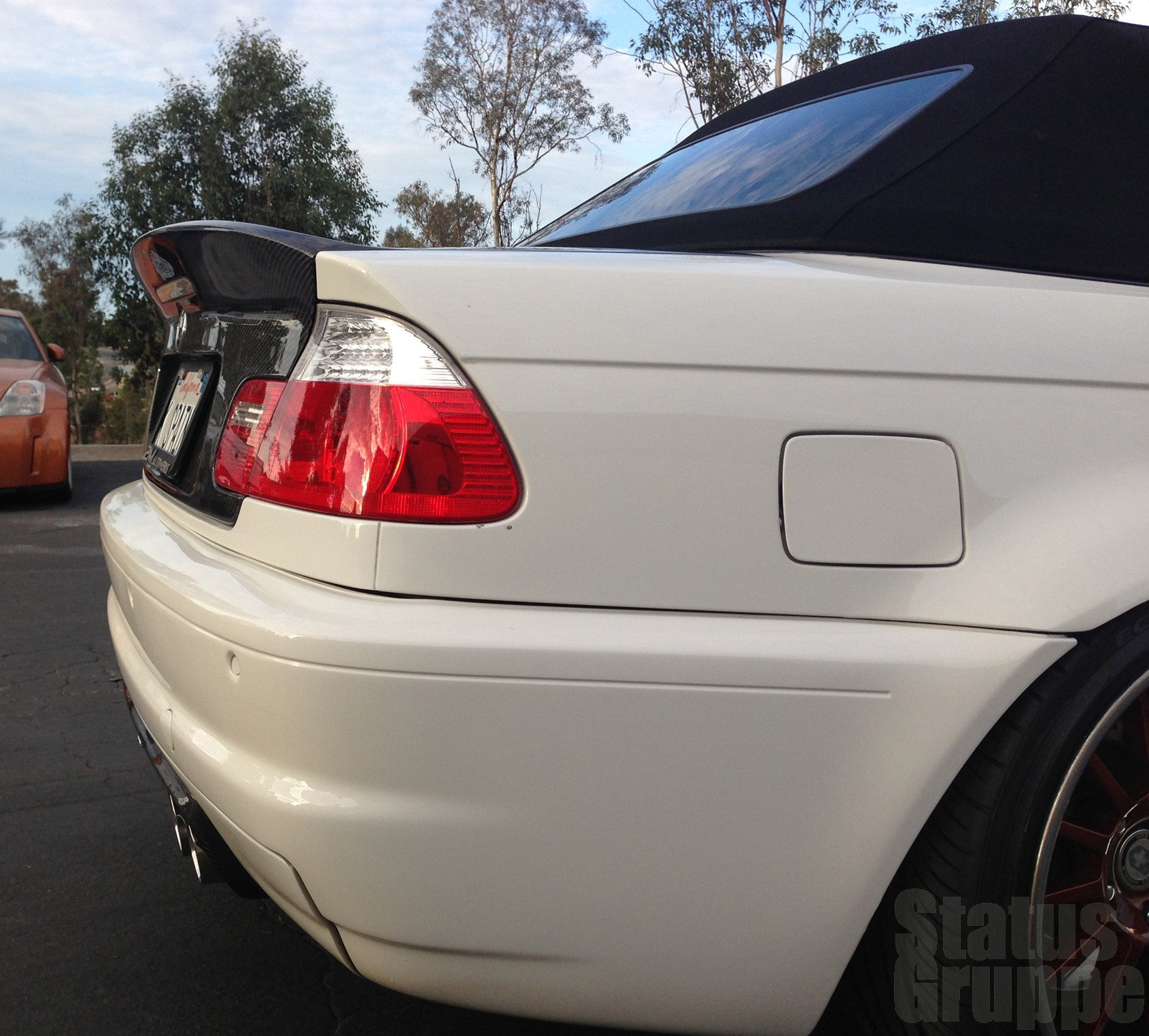 Bmw E46 Convertible Csl Style Trunk Lid
